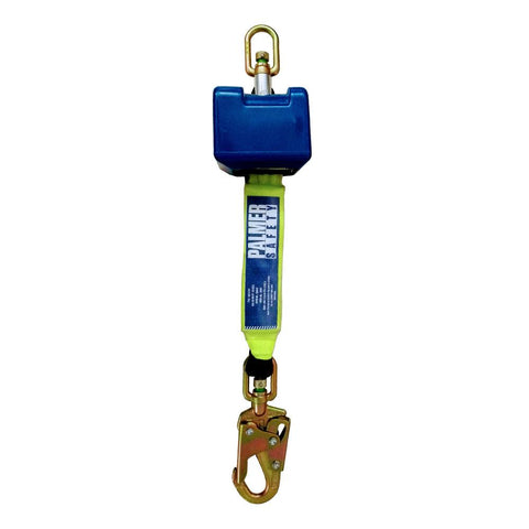 8' Self Retracting Descent Device / Self-Retracting Lifeline with Small Hook - Defender Safety Products