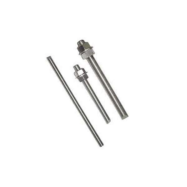 "3/8-16 x 4"" 18-8 Stainless Steel All Thread Cut Threaded Rod (25 Pack)"