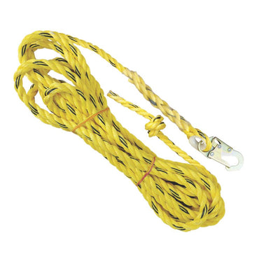 50ft. Lifeline with Locking Snap Hook - Defender Safety Products