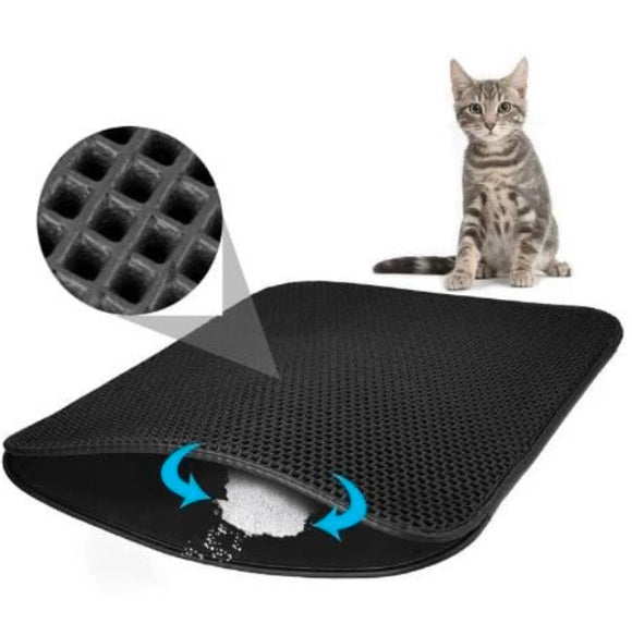 2019 New Double Layer Cat Litter EVA Trapping Mat