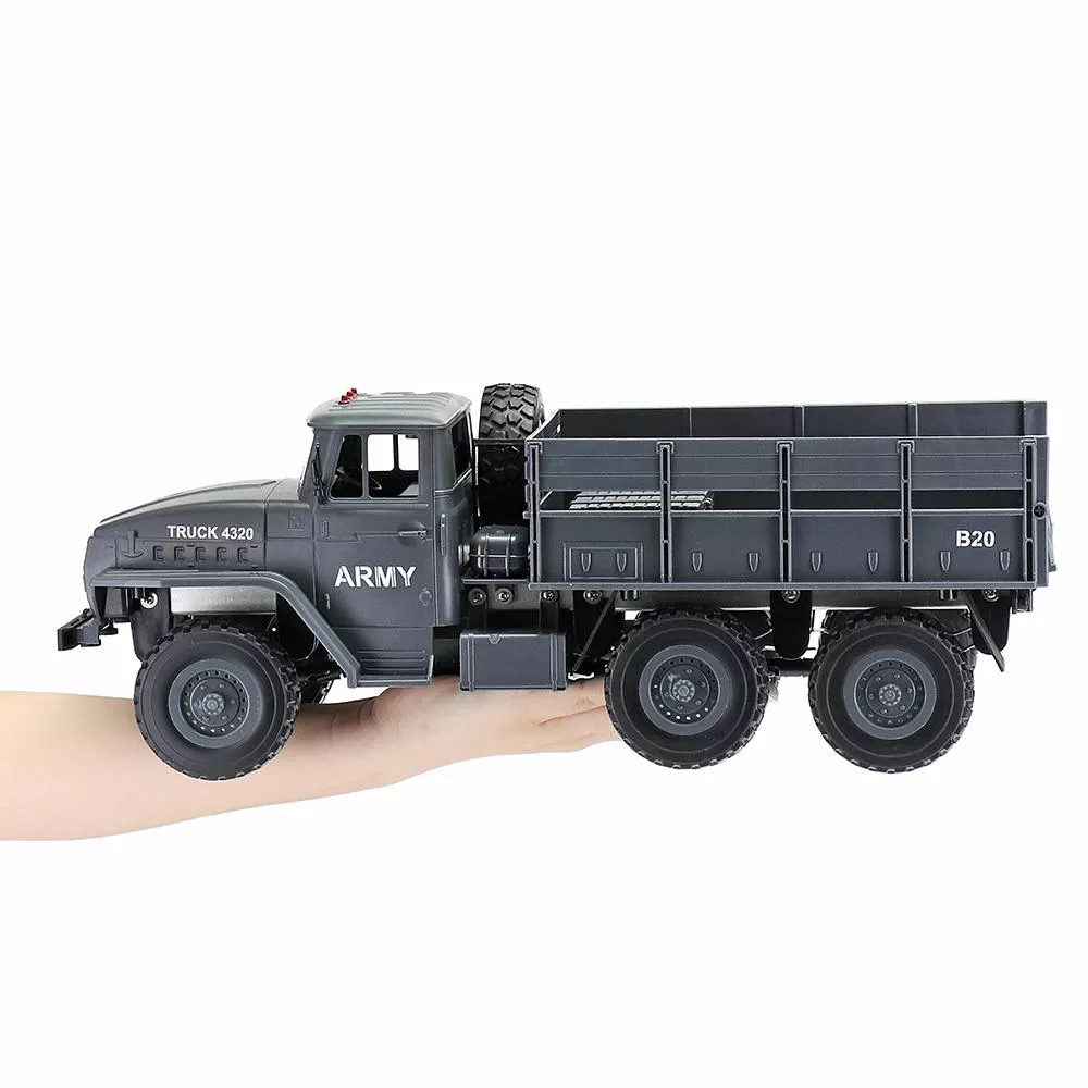 MZ YY2004 2.4G 6WD 1/12 Military Truck Off Road RC Car