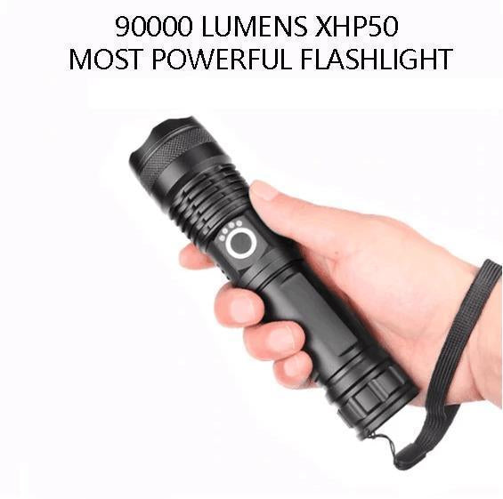 50% OFF-POWERFUL FLASHLIGHT(Buy 2 Free Shipping And Buy 3 Get 1 Free)
