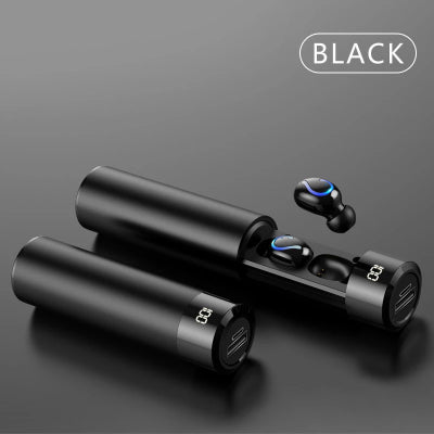 Original HIFI wireless invisible mini Bluetooth headset 5.0 long standby for Apple millet Huawei running binaural wireless earbuds in-ear unisex can answer the phone