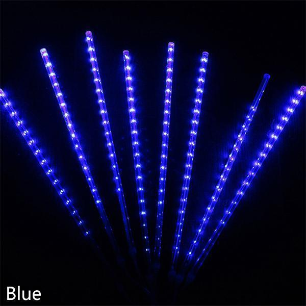 50% OFF -BlueFire Upgraded Meteor Shower Rain Lights, 50cm 10 Tubes 540 LED Falling Rain Drop Christmas Light, Waterproof Cascading Lights for Holiday Party Wedding Christmas Tree Decoration