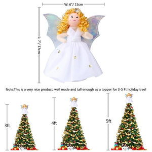 OurWarm Christmas Decoration Elf Doll Plush Christmas Tree Hanging Ornament Merry Christmas New Year Kids Toys 2019 40x24cm