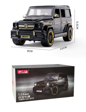 1/24 DieCasts Simulation Car Model Alloy Strong Body SUV L=21Cm(M923Y-6) W/6 Doors Open XLG BaBus Collective & Toys Big G