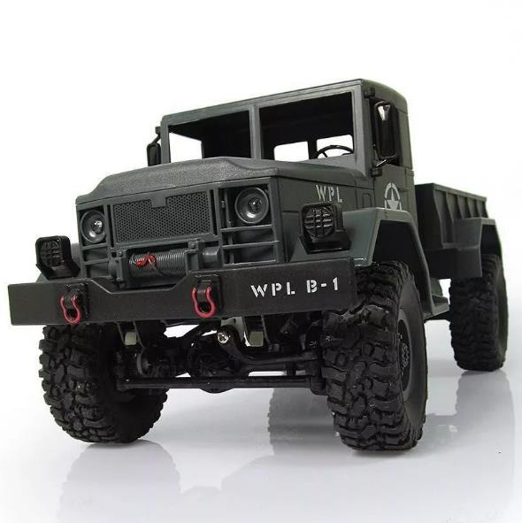 New 1:16 Scale RC Rock Crawler Off-Road 4WD Military Truck RTR Remote Control Car Toy for Children