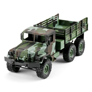Simulation Truck Gift Model LED Lights Kids Shockproof RC Car Children Camouflage Four Channel Off-road Vehicle Remote Control
