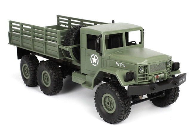 HengLong RC Truck Rock Crawler US Military Transporter Off-Road 4WD Tactical 2.4G Remote Control Vehicles Model Electronic Toy