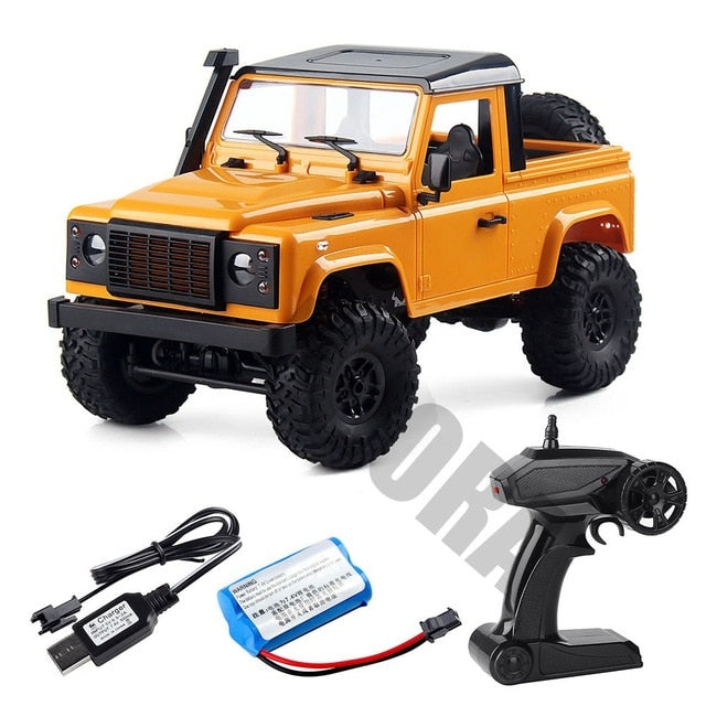 1:12 Scale MN Model RTR Version RC Car 2.4G 4WD MN-90K MN-91K RC Rock Crawler D90 Defender Pickup Remote Control Truck Toys