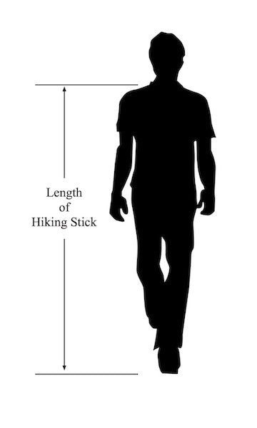 choosing best hiking stick length