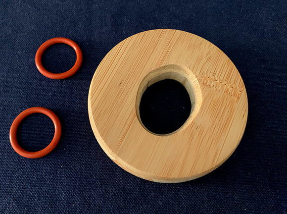removable wooden bokken tsuba