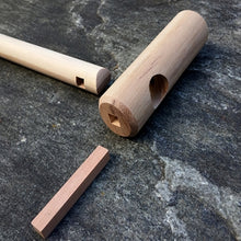 Load image into Gallery viewer, self defense cane handle joinery