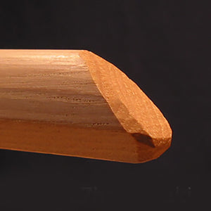 wooden katori chisel point (kissaki)