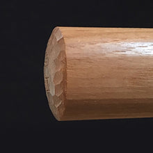 Load image into Gallery viewer, hand cut domed bokken kashira
