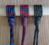 hiking stick lanyard color choices