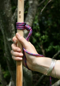 wrist support hiking stick lanyard
