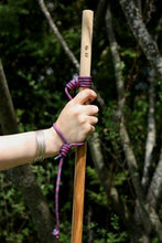 Load image into Gallery viewer, hiking with wooden stick and lanyard