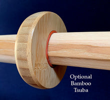 Load image into Gallery viewer, Hand Cut Aikiken Short Bokken