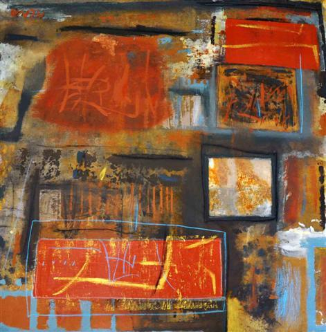 Latin Paintings for Sale - Abstract II