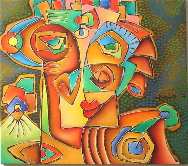 Latin Paintings for Sale - Arlequin
