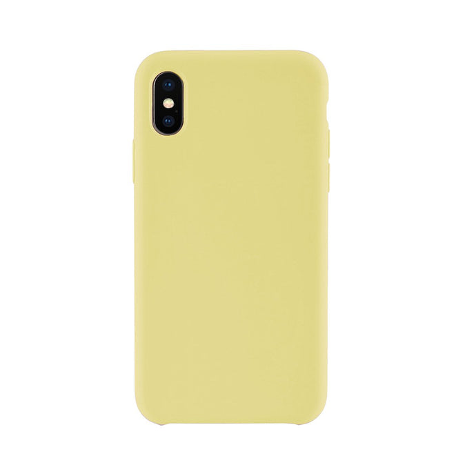 iPhone XS Max<br>高品質シリコーンスマホケース<br><span>Mellow Yellow</span>