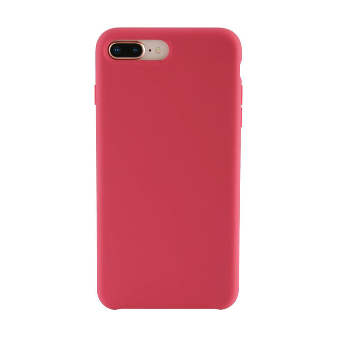 iPhone 7/8 Plus<br>高品質シリコーンスマホケース<br><span>Rose Red</span>