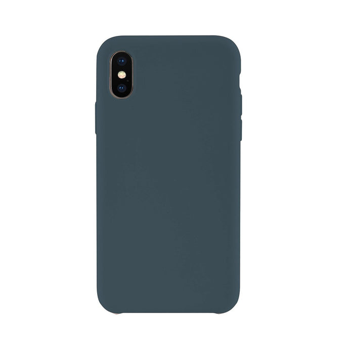 iPhone XS<br>高品質シリコーンスマホケース<br><span>Pacific Green</span>