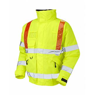 Traffic Management Superior Bomber ISO 20471 (Class 3) Orange Braces