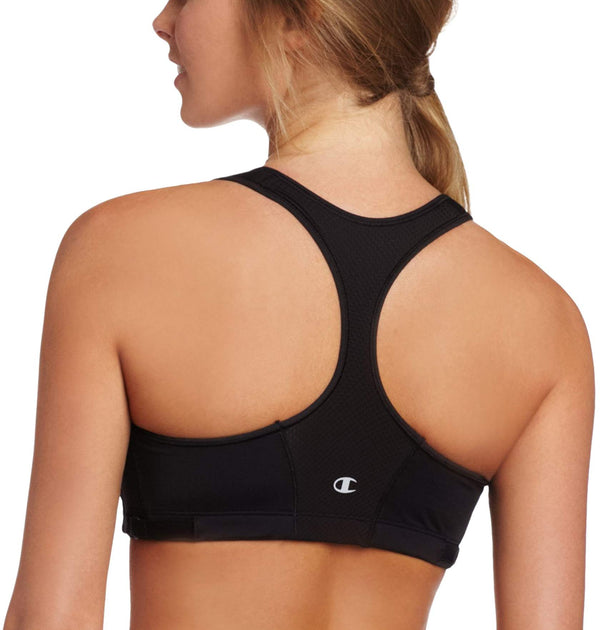 Champion Women's Zip Tech No Wire Sports Bra 1699