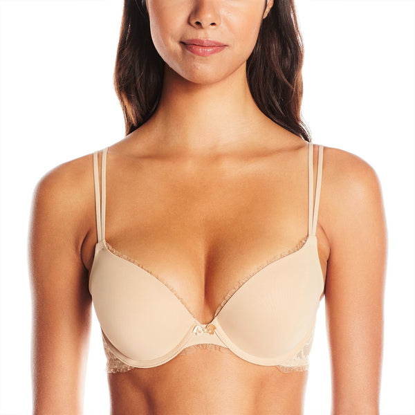 DKNY Women's Intimates Signature Lace Perfect Lift Demi Bra 458000