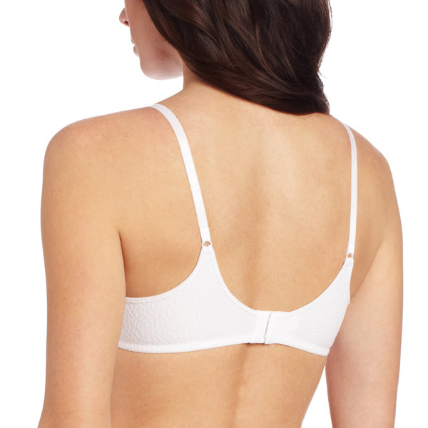 Barely There Women Invisible Look Underwire Bra 4590 White 34B