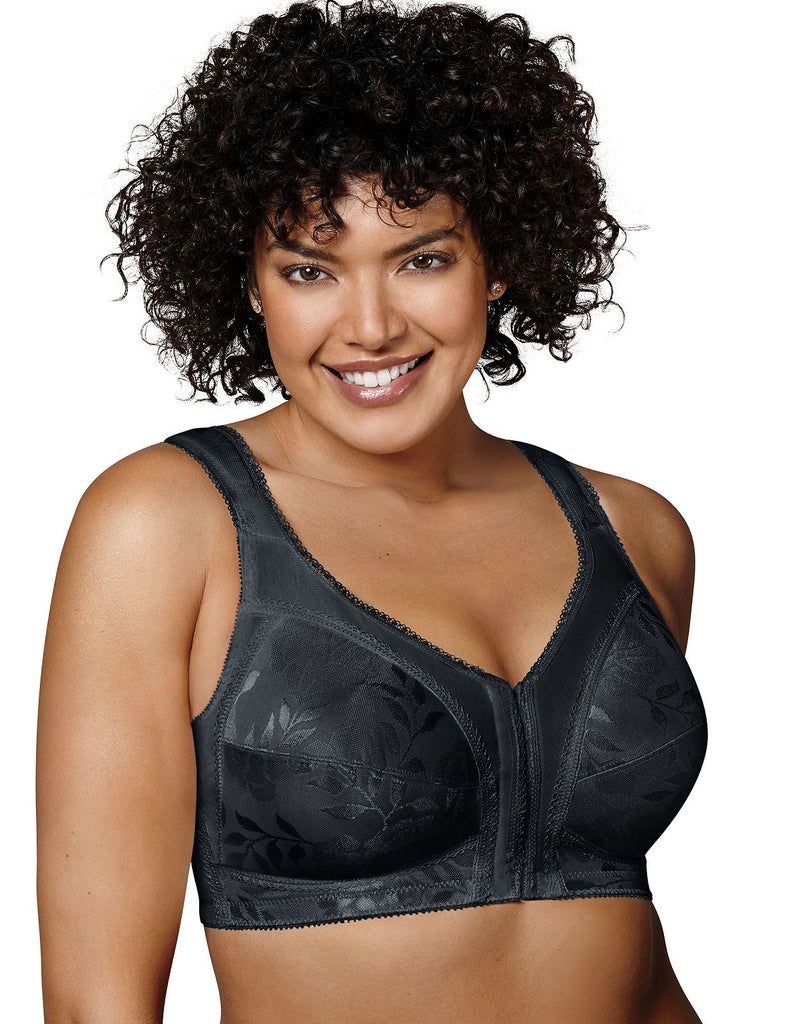 Playtex Women's 18 Hour Front Close Wirefree with Flex Back Bra 4695