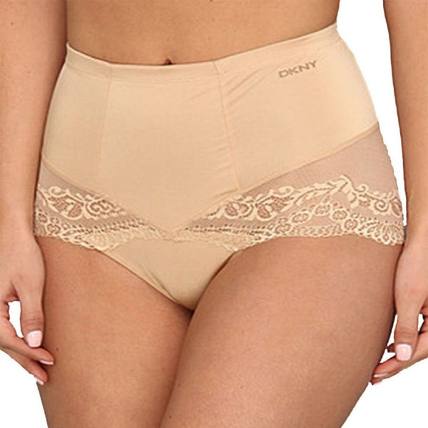 DKNY Women's Under Slimmers Lace Curves Shaper Brief Panty Underwear 656103
