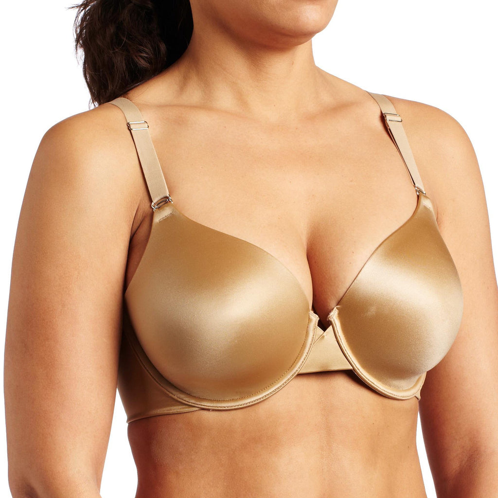 Maidenform Women's One Fab Fit Tailored Coverage Underwire Bra-7539 Beige 34DD