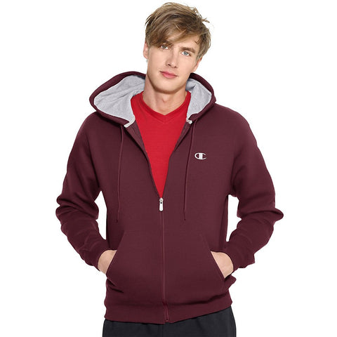 Champion Men's Eco Fleece Full-Zip Hoodie Jacket S2468
