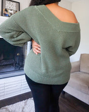 Load image into Gallery viewer, 'Your Favorite' Fall Sweater (Olive)
