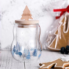 xmas gift, xmas, xmasgift, christmas, christmas gift, glass, xmas tree, costa