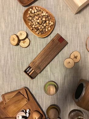 木。方筆盒 Wooden Pencil Case