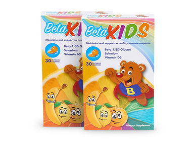 Beta KIDS Chewables (2 Pack) - 30 Count (each)