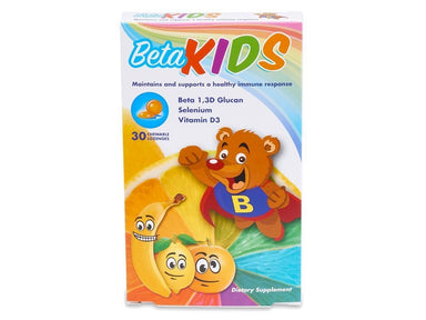 Beta KIDS Chewables (1 Pack) - 30 Count