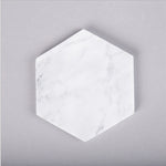 Marble Hexagon Coaster
