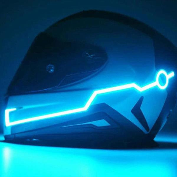 Nova Trends® Motorcycle Neon Helmet Light Kit