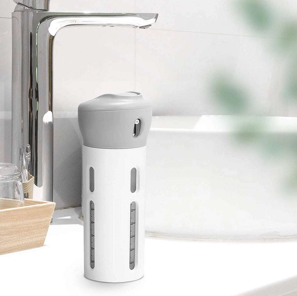 TurnBottle™️ 4-in-1 Toiletries Dispenser
