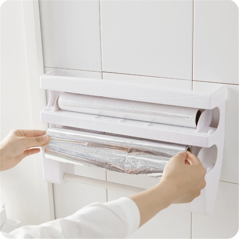 All-In-One Cling Film Storage