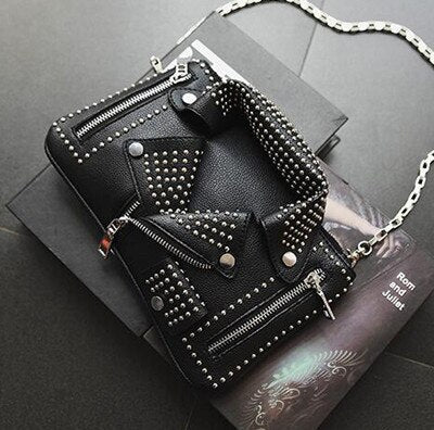 Luxury Biker Handbag