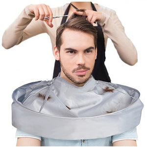 Hair-Catching Barber Cape