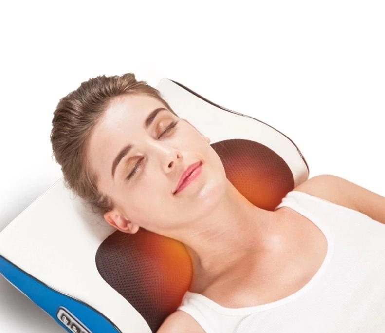 Infrared Heating Electric Massage Pillow