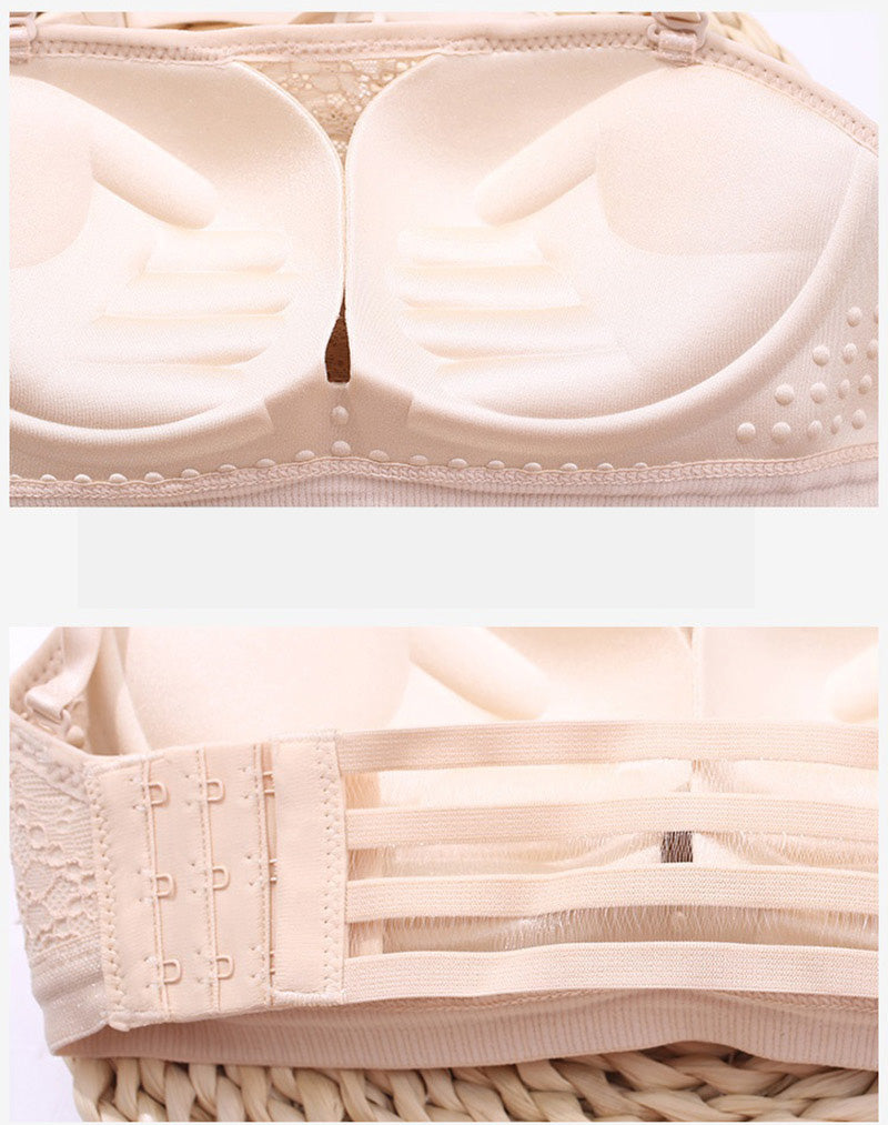FemLift™️ Lace Strapless Bra