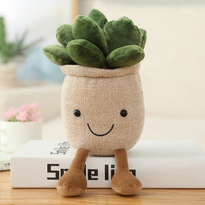 Silly Potted Plant Soft Plushie